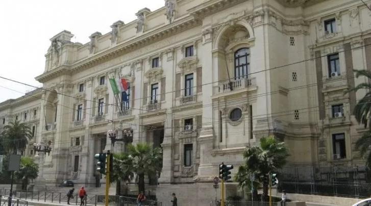 La sede del ministero della Pubblica istruzione in viale Trastevere, a Roma