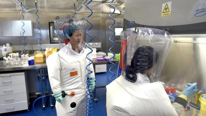 Uno dei laboratori cinesi dove si è studiato il virus del Covid