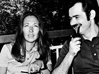 Oriana insieme a Alekos Panagulis