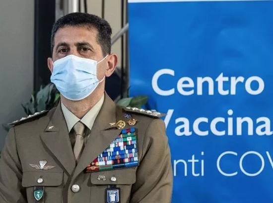 Il generale Francesco Paolo Figliuolo commissario straordinario per la campagna vaccinale