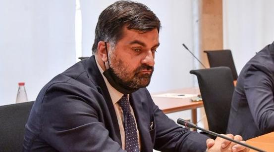 Luca Palamara durante la sua audizione in Commissione Antimafia