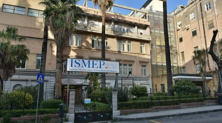 L'ospedale pediatrico di Palermo dove Ariele è stata ricoverata