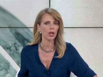 Antonella Alba la giornalista di Rainews24 aggredita alla manifestazione no-vax