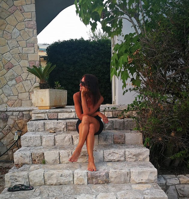Francesca ama tornare in Salento ogni estate anche se le ricorda il padre che non c'è più