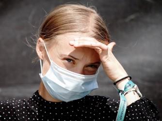 Greta Tintin Eleonora Ernman Thunberg, 18 anni, svedese, lotta contro il cambiamento climatico