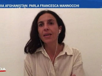 Francesca Mannocchi ospite di La7 racconta ciò che ha visto a Kabul