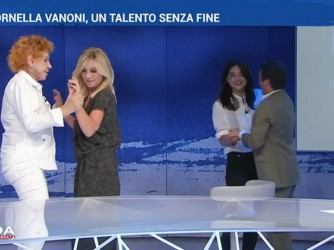 Fuori programma ieri a InOnda con Ornella Vanoni che balla con tutto lo studio