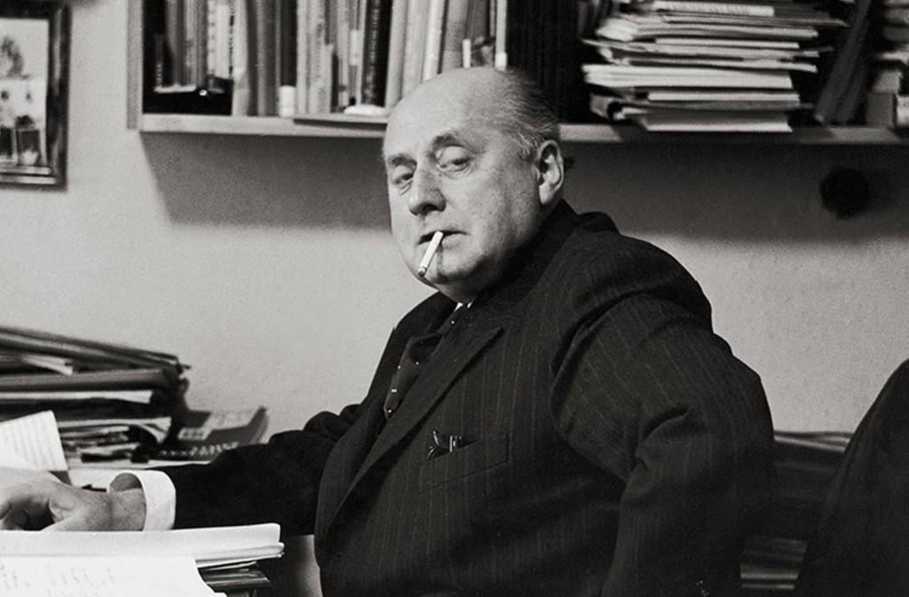 Gottfried Benn, poeta, scrittore e saggista tedesco
