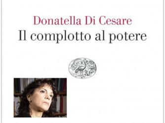 La copertina del libro e nel riquadro l'autrice DonatellaDi Cesare