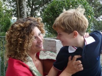 """Danila e suo figlio, come dice lei, """"quando eravamo ancora felici"""""""