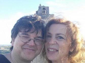 Huub e Gioia in un momento felice, sulla loro storia Gioia aveva scritto una lettera pubblicata il 19 giugno 2019