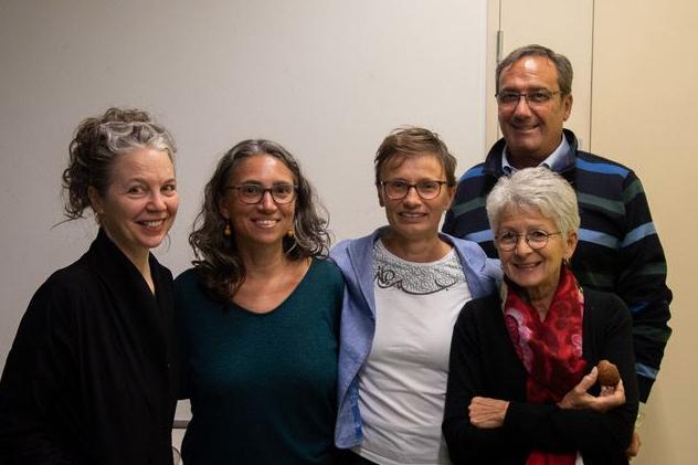I fondatori dell'Associazione Tesoro, Catia Porri è la prima a destra