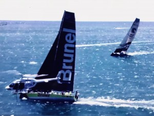 Vor Team Brunel elicottero