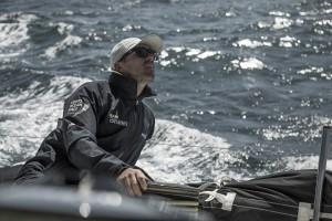 Leg Zero, training in Lisbon on board Brunel. Photo by Martin Keruzore/Volvo Ocean Race. 01 September, 2017