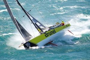 Leg 3, Cape Town to Melbourne, Start. Photo by Ainhoa Sanchez/Volvo Ocean Race. 10 December, 2017.