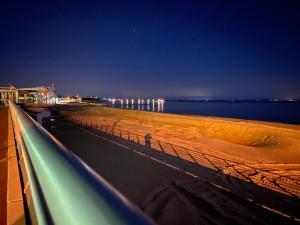 VDM spiaggia pineta notte