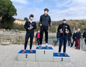 francesco-michielazzo-sul-podio-laser_100466