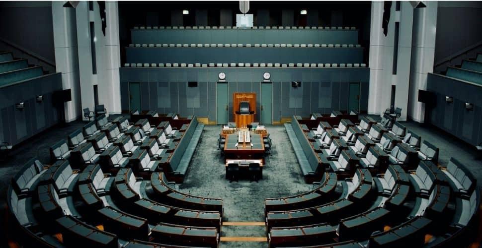 Il parlamento australiano (source: freedom united.org).