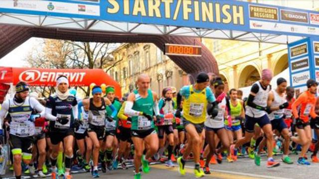 partenza Maratona del Tricolore