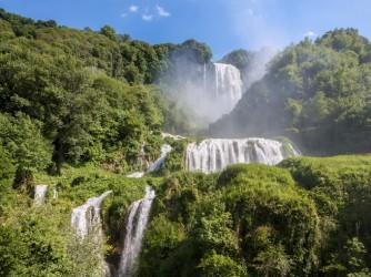 Waterfall in Umbria- Cascata delle Marmore, Terni Italy