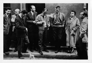 Mario-Dondero-Il-gruppo-degli-scrittori-del-Nouveau-Roman-1959
