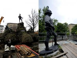 bottego-statua