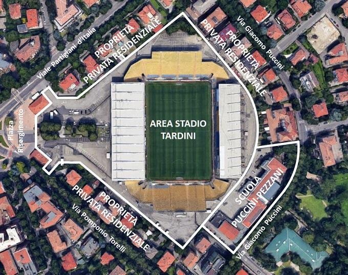 Tardini-Area