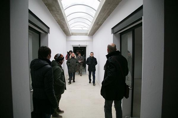2017 02 01 Pizzarotti Ferraris Alinovi Marani sopralluogo Distretto del Cinema -3
