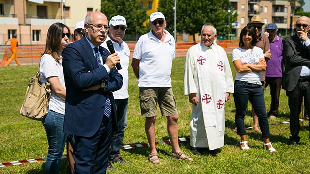 2018 06 21 Pizzarotti Alinovi Prima pietra Parco giochi San Prospero-9