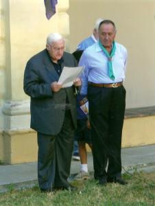 Ernesto De Bernardis e Don Tonino Moroni  ino Moroni ed Enesto De Bernardis 2007