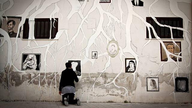 Arte relazionale per i migranti. Un'opera di Fare Ala. Ph: Mariangela Insana