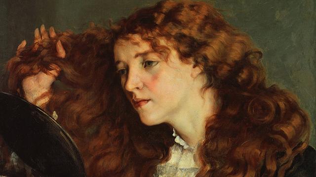 Gustave Courbet, Jo, la bella irlandese, 1866