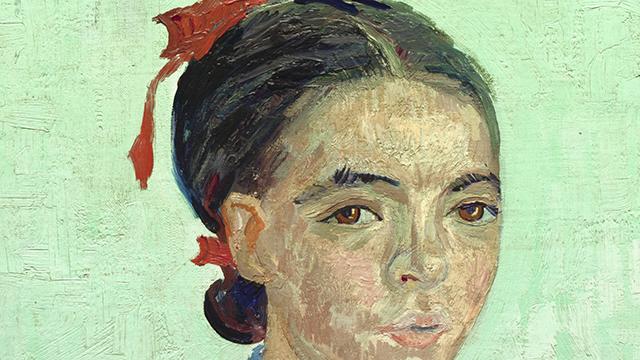 La Mousmé seduta, Vincent Van Gogh, 1888, National Gallery Washington