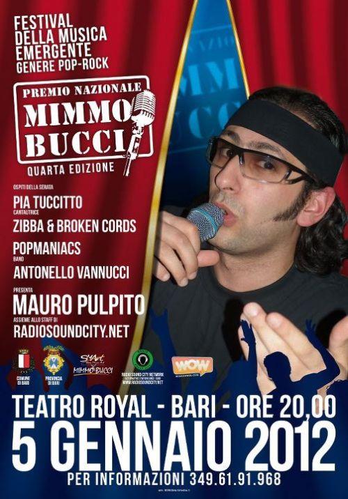 locandina Mimmo Bucci