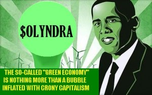 obamaS CORRUPT green ECONOMY BUBBLE