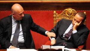 Berlusconi-dorme-al-Senato