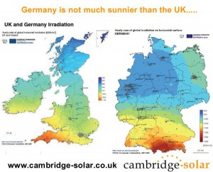 ukvsgermany-solar-resource