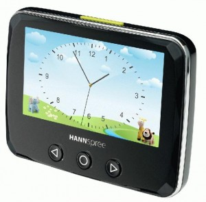 hannspree photo alarm clock