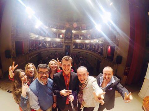suoceri albanesi selfie a fidenza