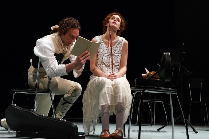 Intrigo e amore-Simone Toni, Alice Arcuri-Foto Caroli