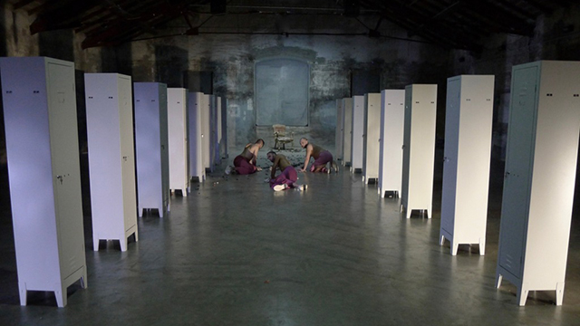 Lenz Fondazione, Rosa Winkel. Triangolo rosa - foto di Maria Federica Maestri (4)