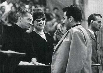 (Karajan, Tebaldi e Bergonzi)