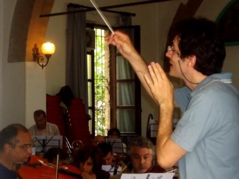 (Sebastiano Rolli prove di Aida a Parma Lirica)