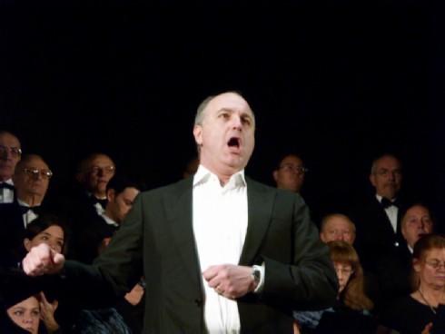 Michele Pertusi e il Coro Renata Tebaldi