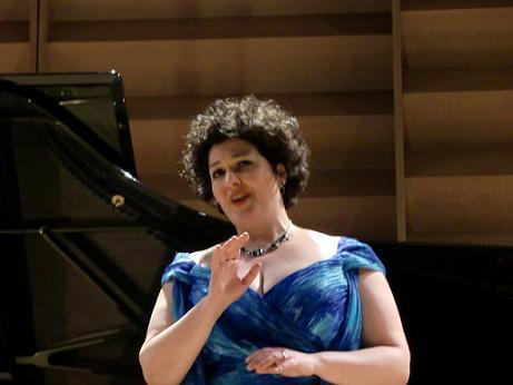 Il soprano Daria Masiero