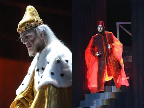 Claudio Sgura e Roberto Tagliavini ne I due Foscari  del Festival Verdi 2009