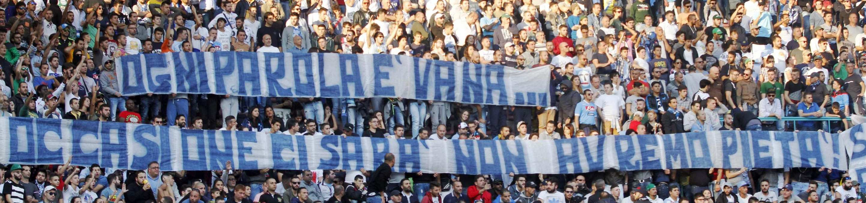 Soccer; Serie A; Napoli -  Roma