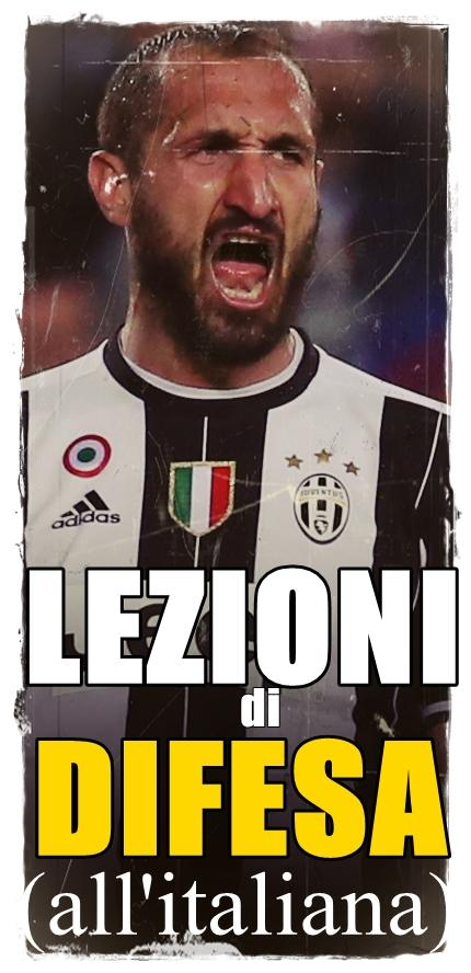 Juventus' Giorgio Chiellini celebrates after the match