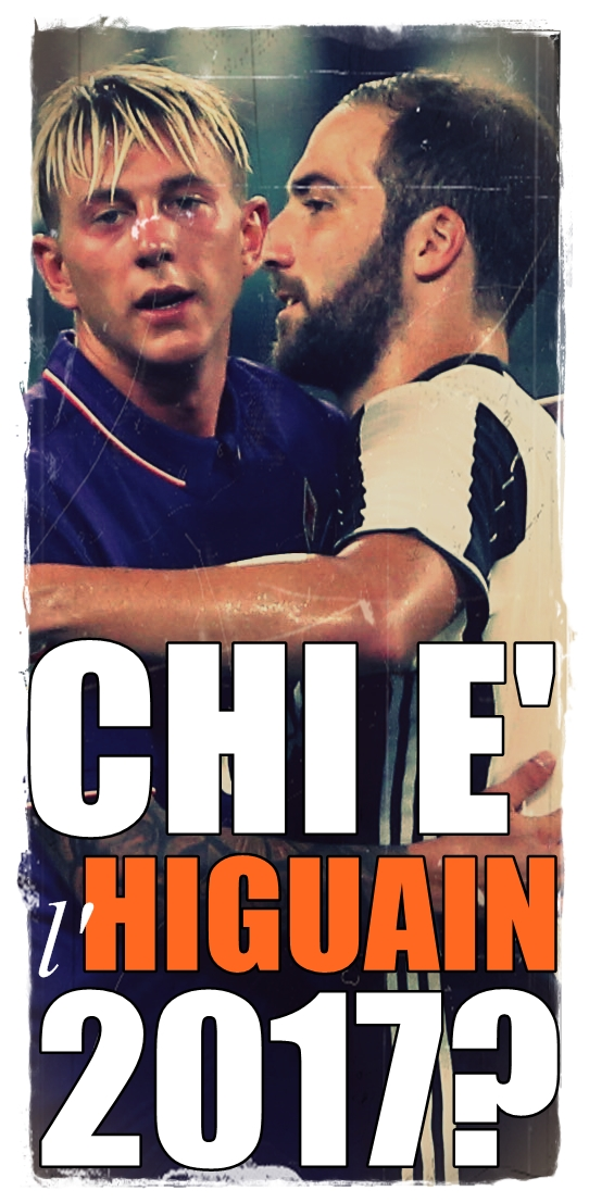 Gonzalo Higuain e Federico Bernardeschi