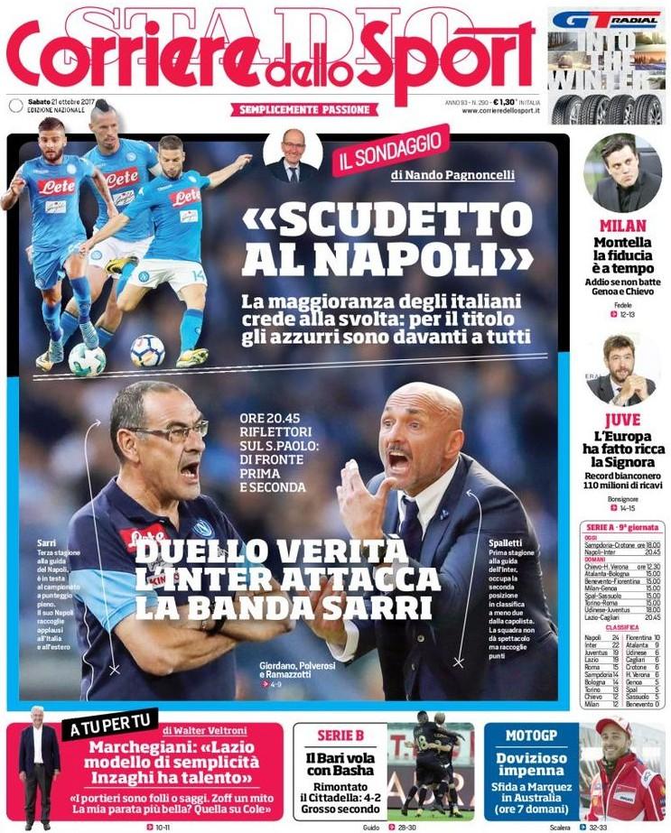 Corriere sport scudetto